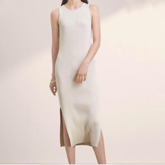 Aritzia Babaton Gabe Knit Midi Dress
